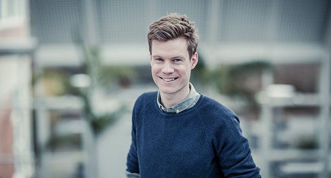 HJALTE HOLM ANDERSEN RECEIVES TALENT PRIZE FROM THE LUNDBECK FOUNDATION